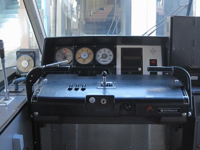 南海30000系運転席 南海30000系運転席 (南海高野線特急りんかん) 実りの秋(南海電鉄.